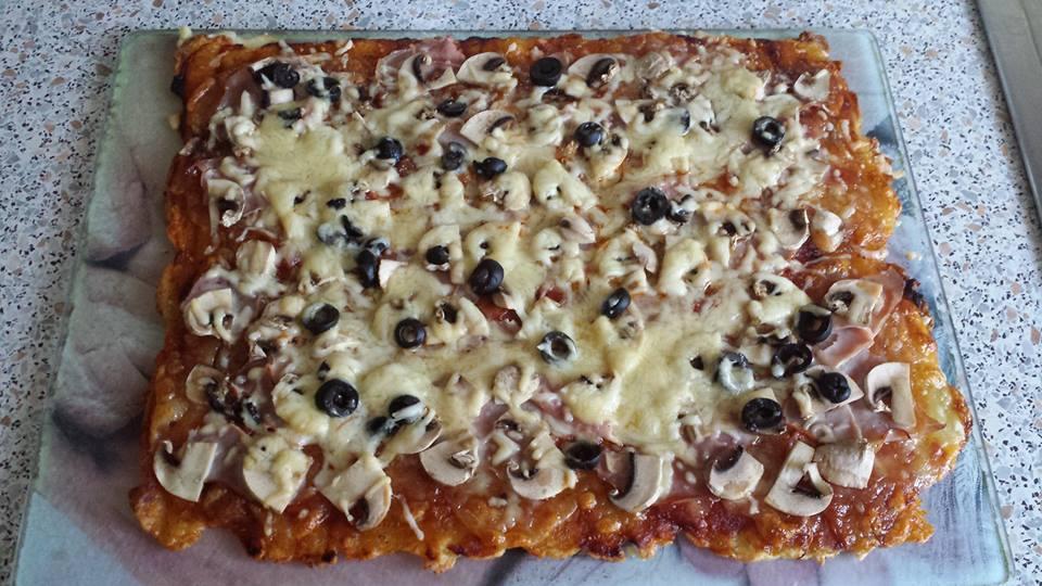 Kloßteig Pizza