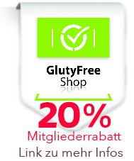 Glutyfreeshop Rabatt für Gruppen Mitglieder