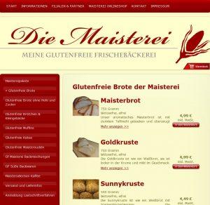 Maisterei-Onlineshop