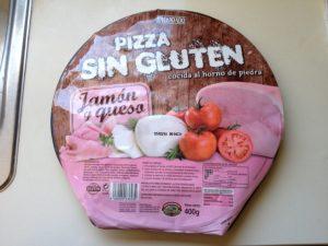 Pizza Sin Gluten aus dem Mercadona