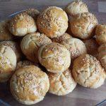 Türkische salzige Kekse (Kurabiye)