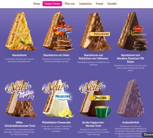 Die Glutenfreie Almondy Schokoladentorte Toblerone Im Test