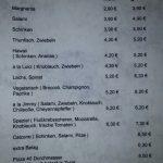 Vereinsheim Ahlen Speisekarte