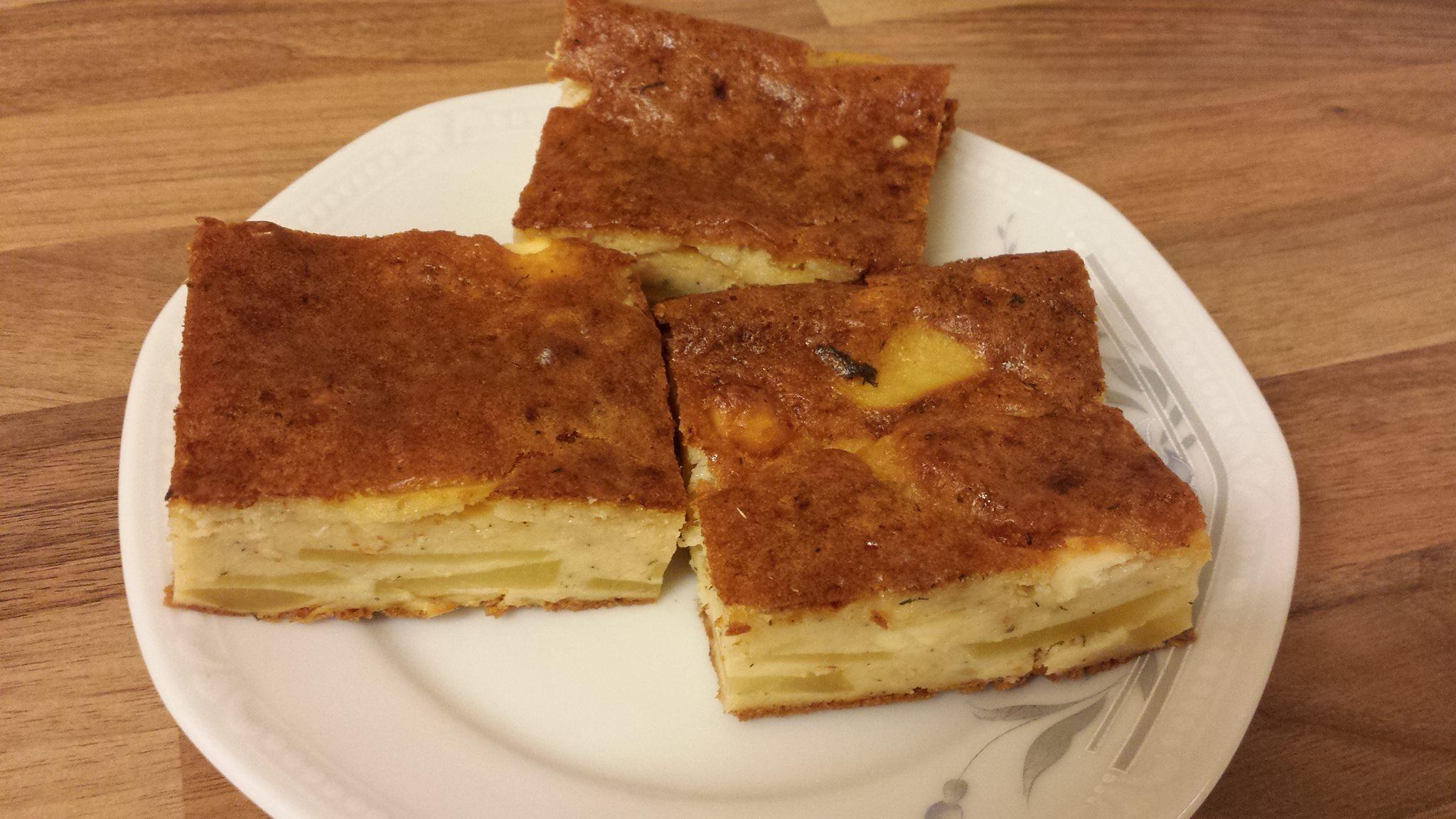 Deftiger Turkischer Kartoffel Kase Kuchen Zoliakie Austausch