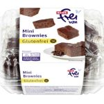 REWE glutenfrei Mini Brownies