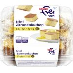 REWE glutenfrei Mini Zitronenkuchen