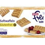 REWE glutenfrei Softwaffeln