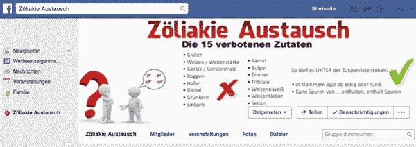 Facebookgruppe: https://www.facebook.com/groups/zoeliakie.austausch/