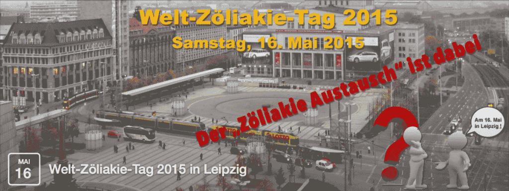 Welt-Zöliakie-Tag 2015 am 16.05. am Augustusplatz in Leipzig