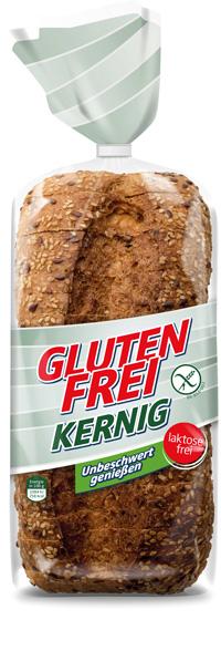 REAL Glutenfreies Brot kernig