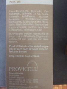 Provicell_Zutaten