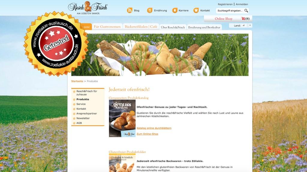 Resch&Frisch Produkttest