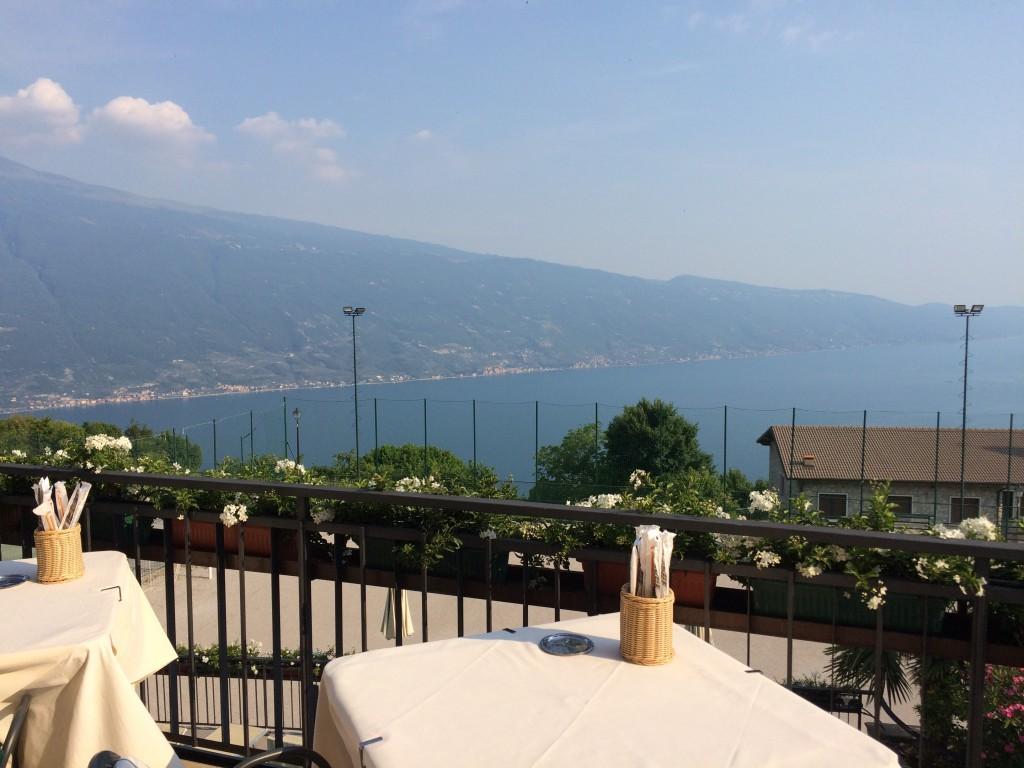 Hotel Gallo Ausblick von der Terrasse