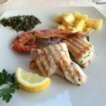 Hotel Gallo - Abendessen - Fischteller