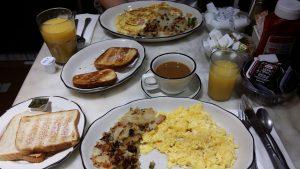 Frühstück im Bloom's New York