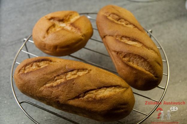 Mini Baguette und Kreuzbrötchen