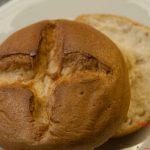 Kreuzbrötchen  gebacken