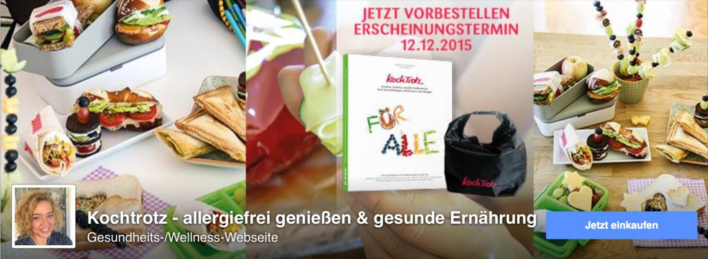 Kochtrotz Facebook Fanpage