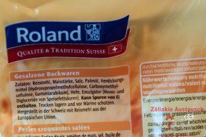 Zutaten Roland Sticks glutenfrei