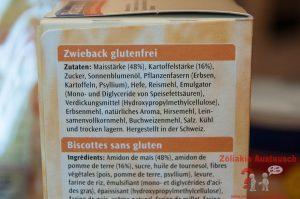 Zutaten Roland Zwieback glutenfrei