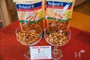 Roland glutenfreie Sticks und Pearls