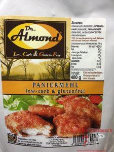 LowCarb Paniermehl von Dr. Almond