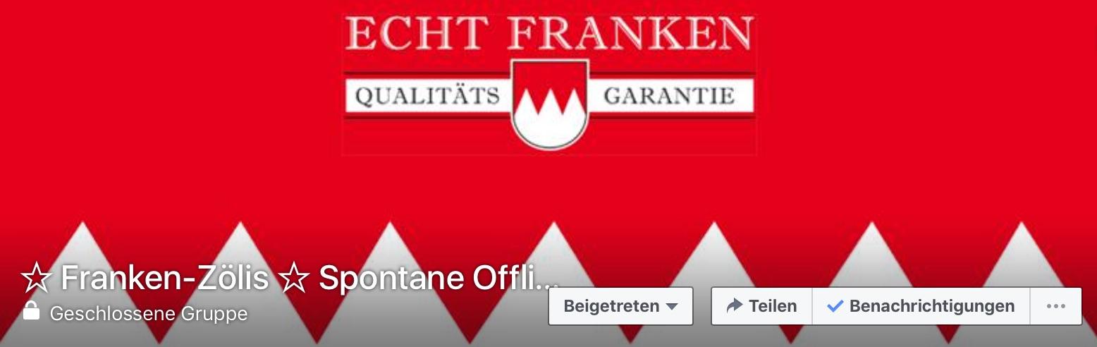 Facebookgruppe_Franken-Zölis_