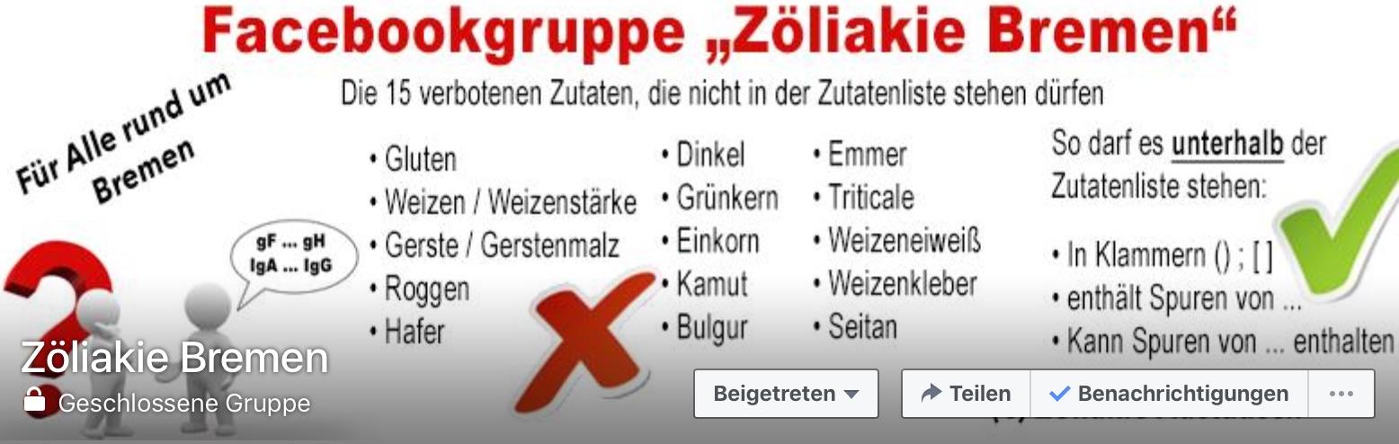Facebookgruppe_Zöliakie_Bremen