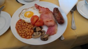 Englisches Frühstück - Amber House