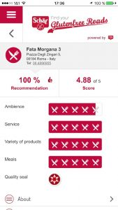 Kostenlose Glutenfreeroad App