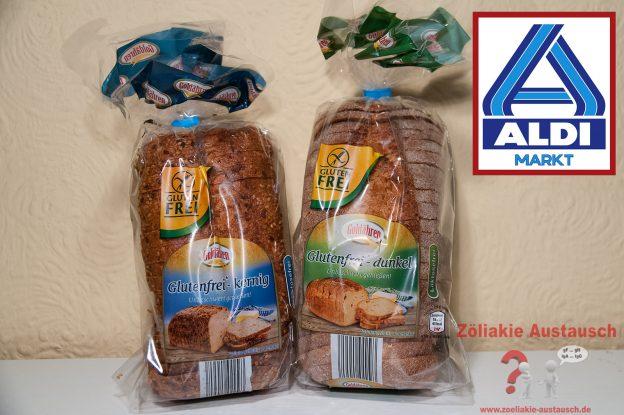 ALDI Nord - Zwei Sorten glutenfreies Brot von Stöhr