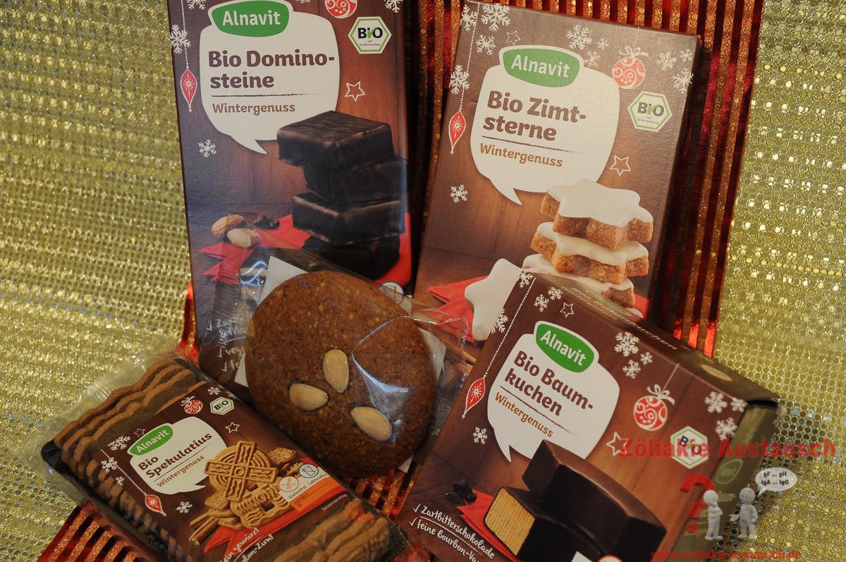 Glutenfreies Weihnachtsgebäck.Glutenfreies Bio Weihnachtsgebäck Von Alnavit Gewinnspiel