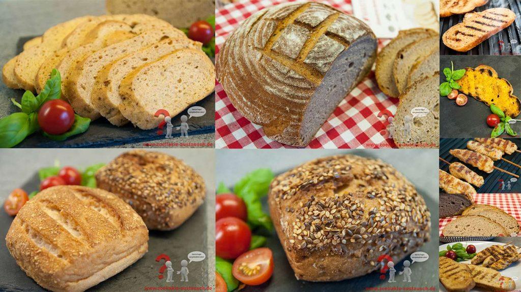 Maisterei glutenfreie Brote und Brötchen