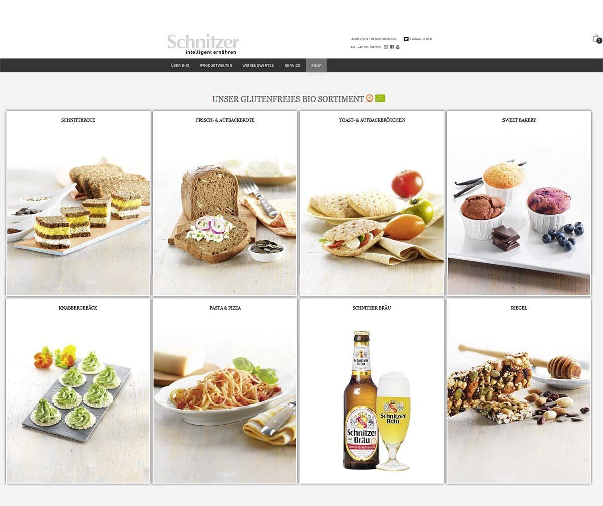 Schnitzer Onlineshop 2017