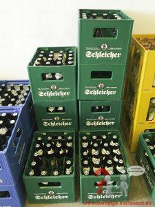 Lagerverkauf an der Brauerei