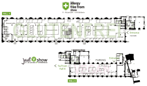 Hallenplan Allergy & free from Show 2017