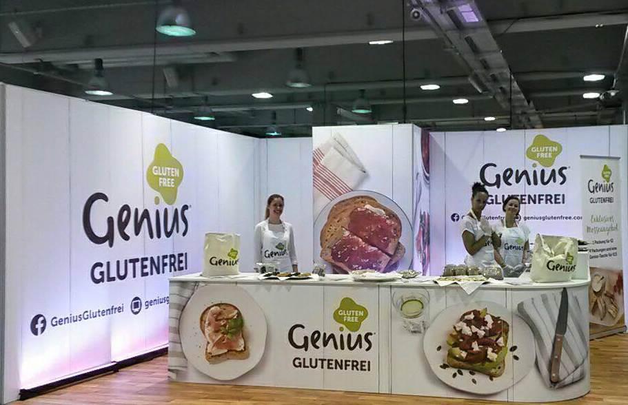 Genius-Messe-Stand