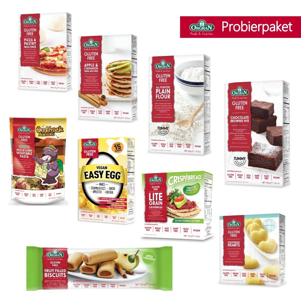 Orgran-Probierpaket