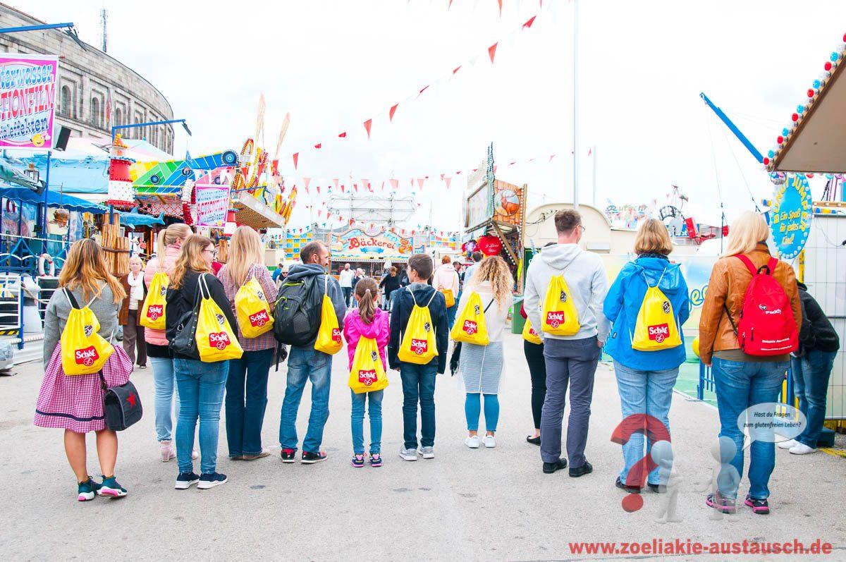 Eine glutenfreie Volksfestrunde in Nürnberg