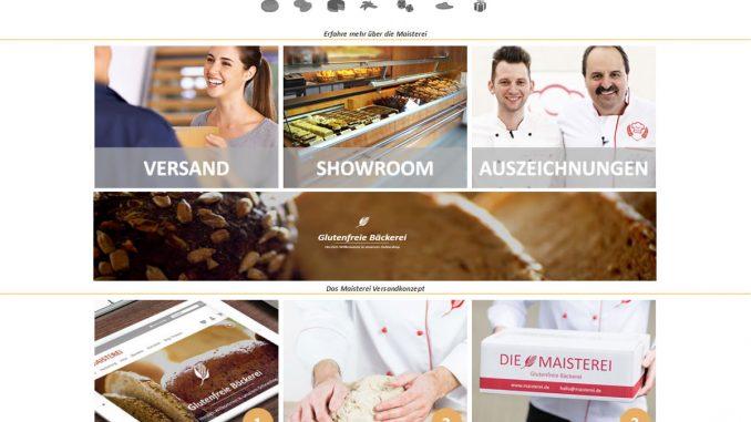 Onlineshop der Maisterei