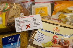 Glutenfreie Produkte für Teilnehmer am Offline Treffen