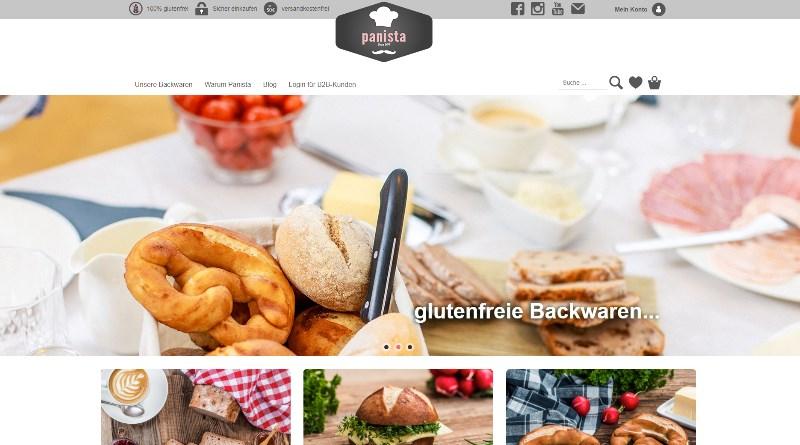 Panista Webshop für glutenfreie Backwaren und mehr