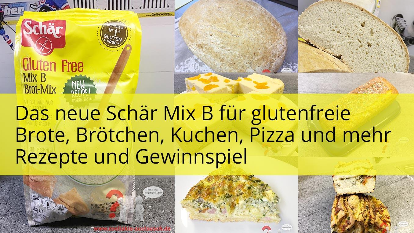 Glutenfreie Backmischung Schär MixB