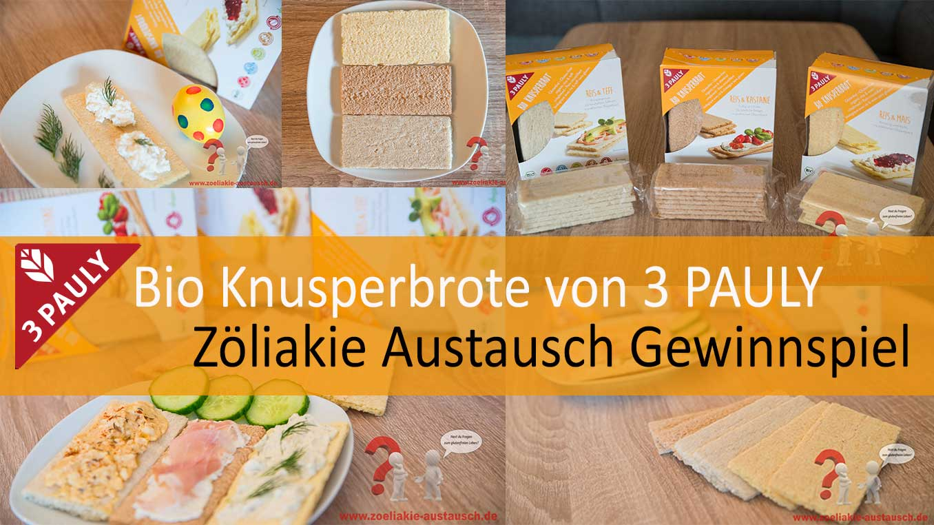 Glutenfreie Knusperbrote von 3Pauly