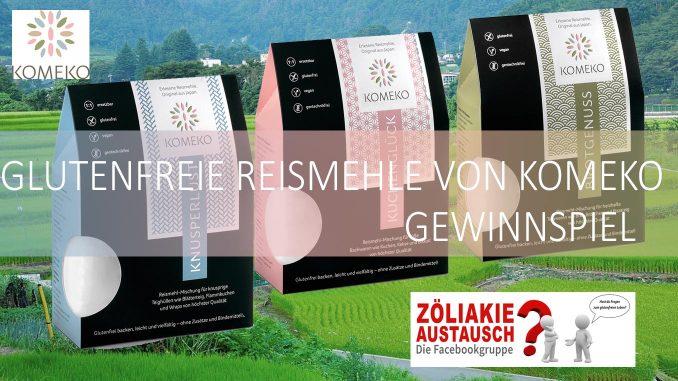 KOMEKO Reismehl Gewinnpaket