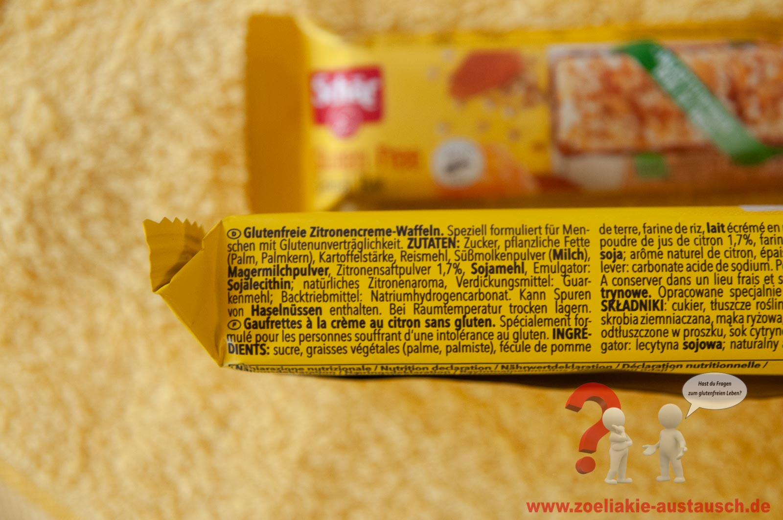 Glutenfreie Körner Riegel