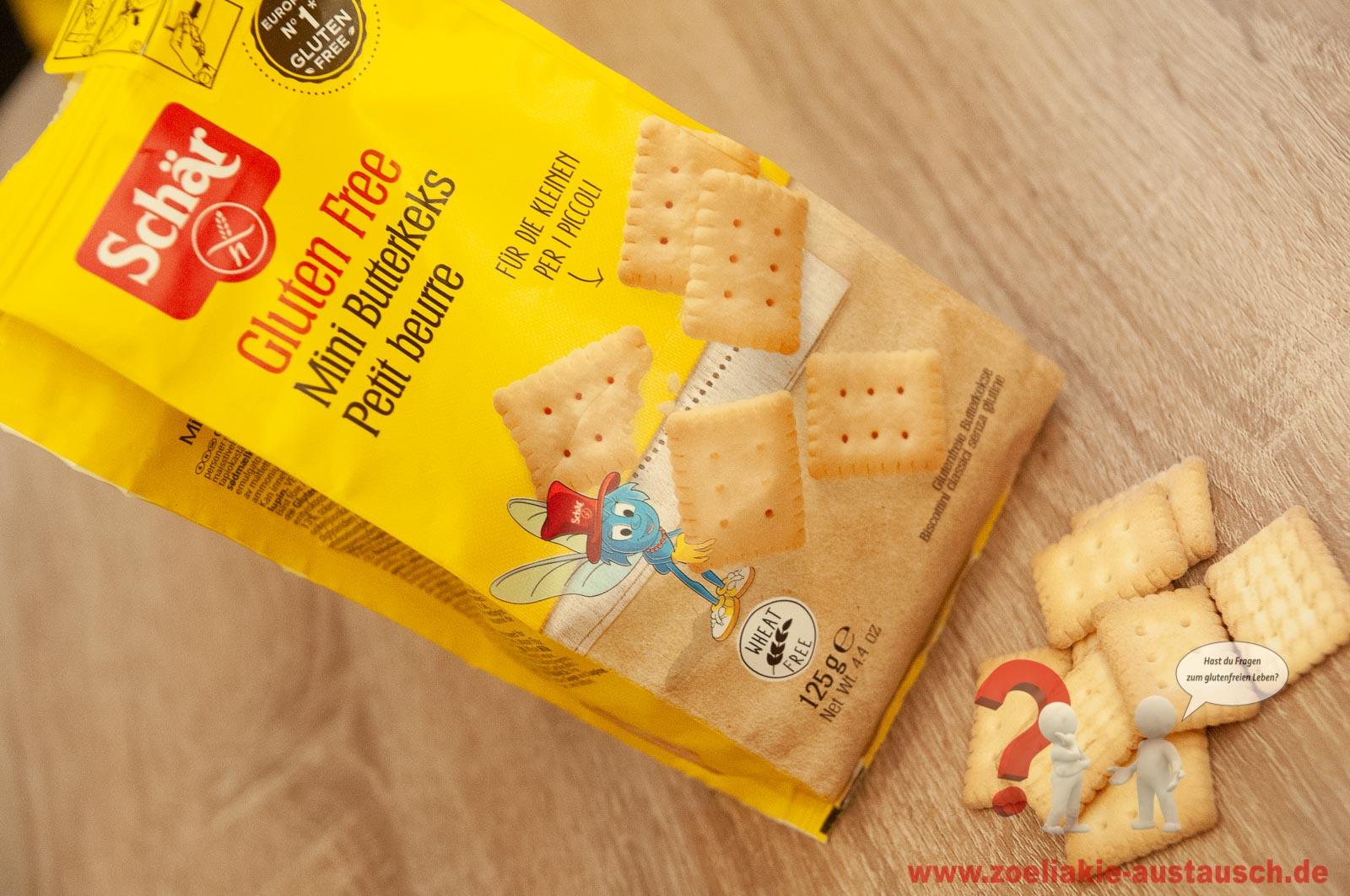 Glutenfreie Mini Butterkekse