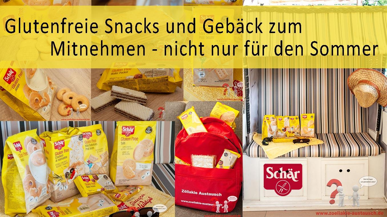 Schär glutenfreie Snacks
