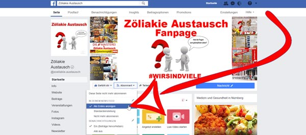 Facebook-Fanpage-Abonnieren