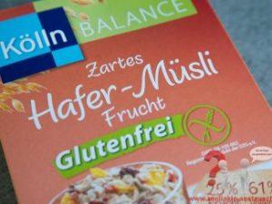 Kölln Hafer Müsli Frucht glutenfrei